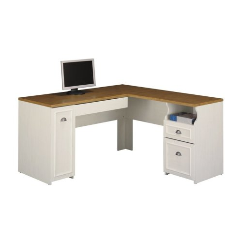 Medium Of White L Shaped Desk