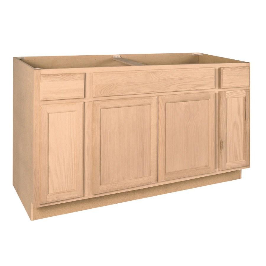 unfinished kitchen base cabinets kitchen base cabinets Kitchen Cabinets At Lowes