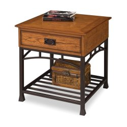 Gallant Home Styles Craftsman Oak Composite Craftsman End Table Shop Home Styles Craftsman Oak Composite Craftsman End Table Home Styles Concrete Table Home Styles Bistro Table
