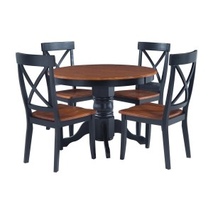 Soothing Round Table Shop Home Styles Oak Set Round Home Styles Vanity Table Home Styles Bistro Table Home Styles Oak Set