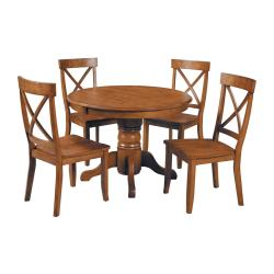 Exceptional Round Home Styles End Table Home Styles Bar Table Home Styles Cottage Oak Set Round Table Shop Home Styles Cottage Oak Set