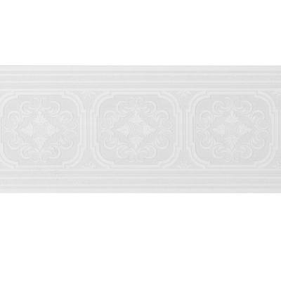 Style Selections 6.75-in White Prepasted Wallpaper Border at Lowes.com