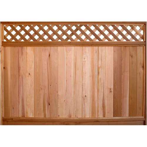 Medium Crop Of Lattice Fence Panels