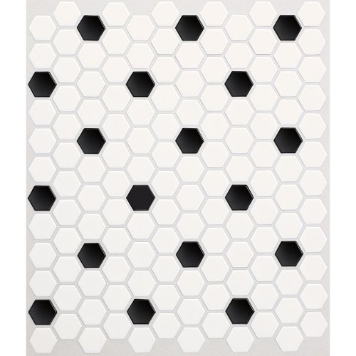 Medium Of Black And White Tile