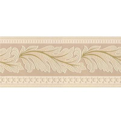 Style Selections 5-in Beige Prepasted Wallpaper Border at Lowes.com