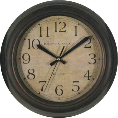 Stylish Allen Roth Analog Round Wall Clock Shop Clocks At Star Shaped Wall Clocks