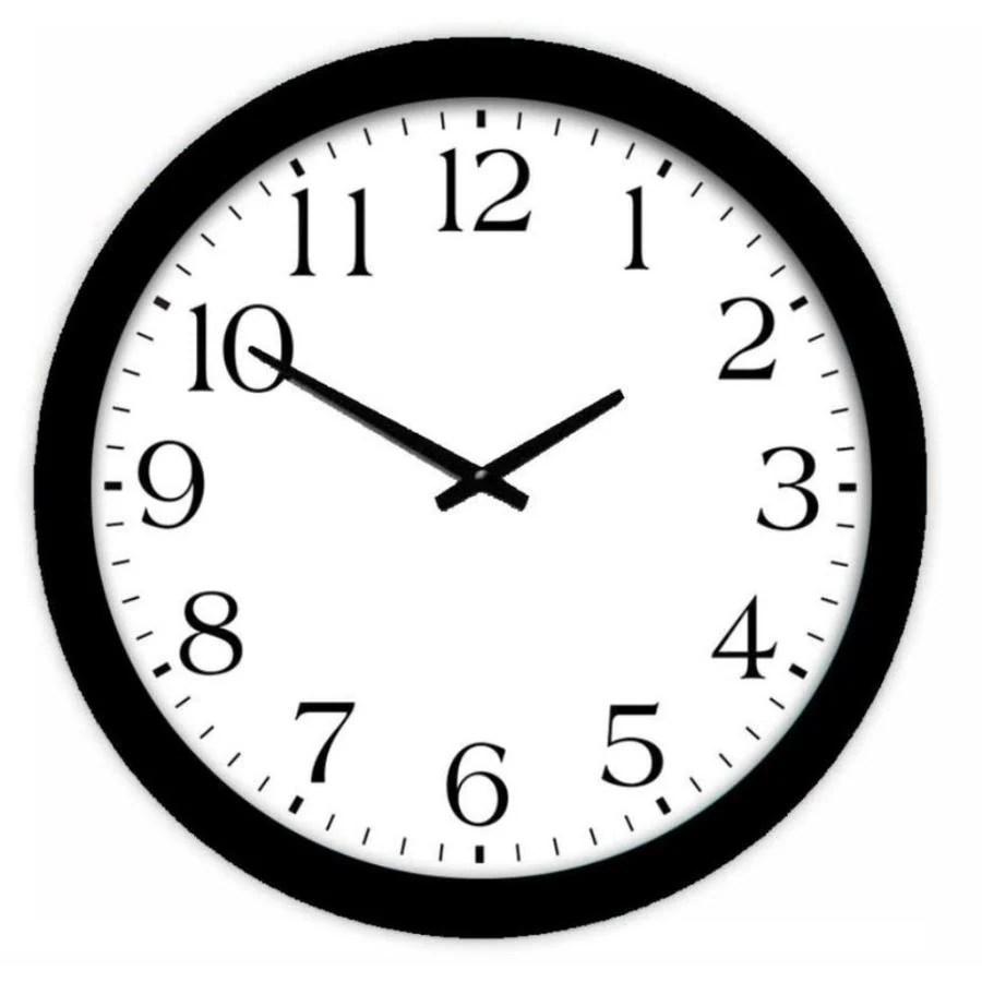 Riveting Style Selections Analog Round Wall Clock Shop Clocks At Boys Wall Clock furniture Boys Wall Clock