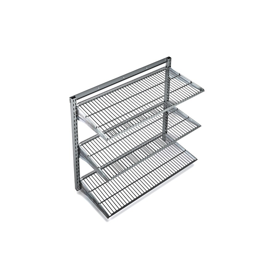 Fullsize Of Metal Wall Storage Shelves