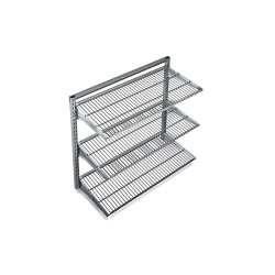 Small Of Metal Wall Storage Shelves