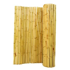Backyard XScapes 96in W X 48in H Natural Bamboo Outdoor
