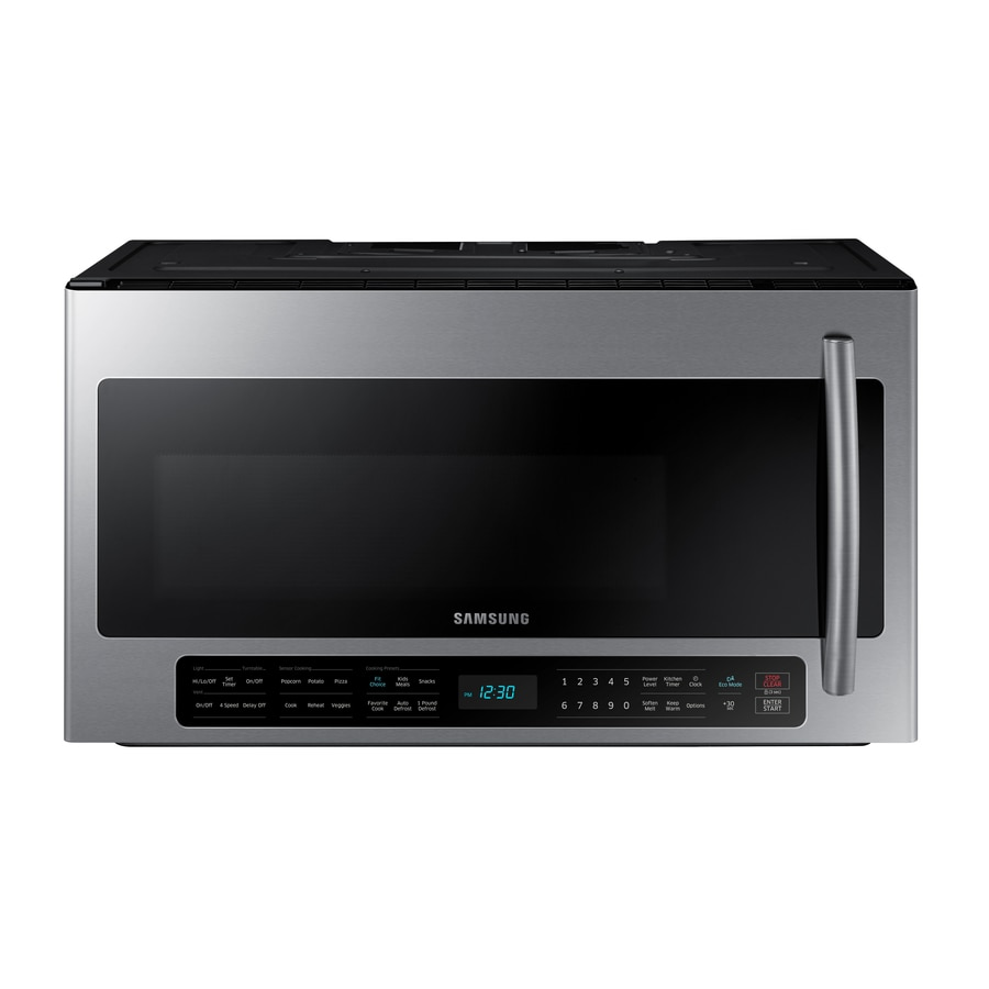 Fullsize Of Microwave Above Stove