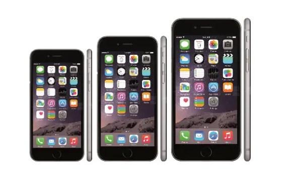 iPhone -sizes
