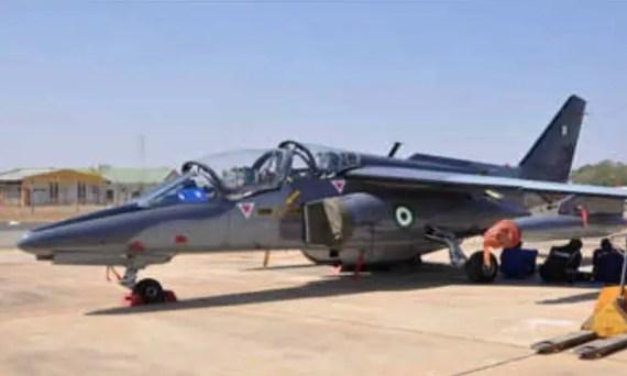 nigerian airforce alpha jet