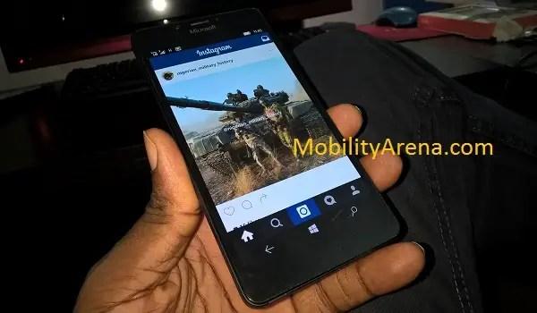 Instagram for Windows 10 Mobile