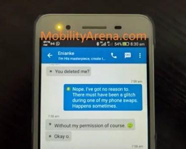 BBM deleting contacts