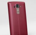 LG G4 Kırmızı Gerçek Deri Akıllı Telefon