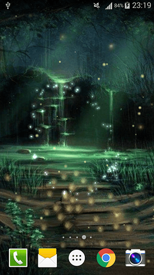 Fireflies by Live wallpaper HD pour Android à télécharger gratuitement. Fond d'écran animé ...