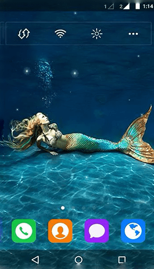Mermaid by MYFREEAPPS.DE live wallpaper for Android. Mermaid by MYFREEAPPS.DE free download for ...
