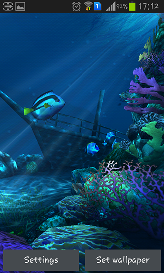Ocean HD live wallpaper for Android. Ocean HD free download for tablet and phone.