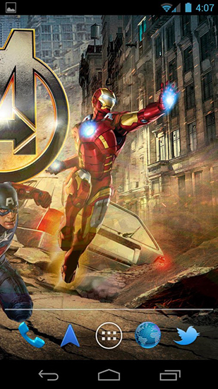 The avengers live wallpaper for Android. The avengers free ...