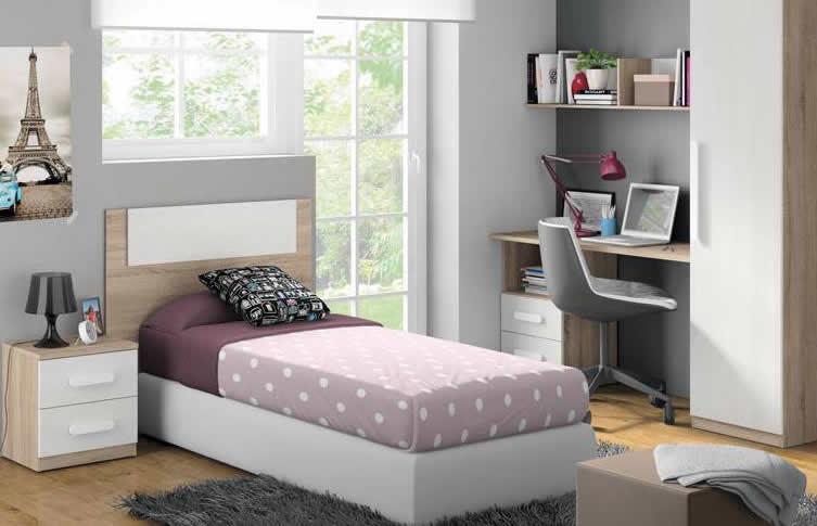 El dormitorio juvenil como forma de expresi n - Cama individual juvenil ...