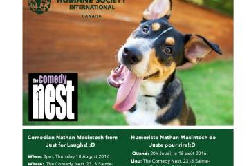 HSI/Canada: Comedy for a Cause