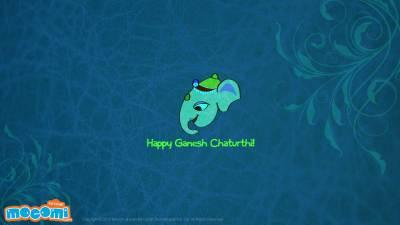 Ganesh Chaturthi 07 - Desktop Wallpapers for Kids | Mocomi