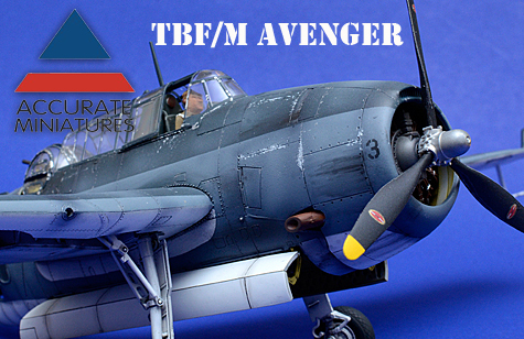 Accurate Miniatures TBF/M Avenger