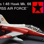 Tamiya Hawk Mk. 66 SWISS AIR FORCE