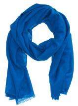 Cobalt Blue Cashmere Scarf