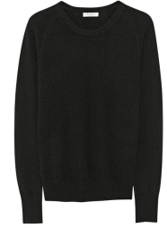 Equipment Sloane Black Cashmere Sweater