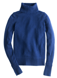 J Crew Collection Cashmere Chunky Turtleneck Sweater