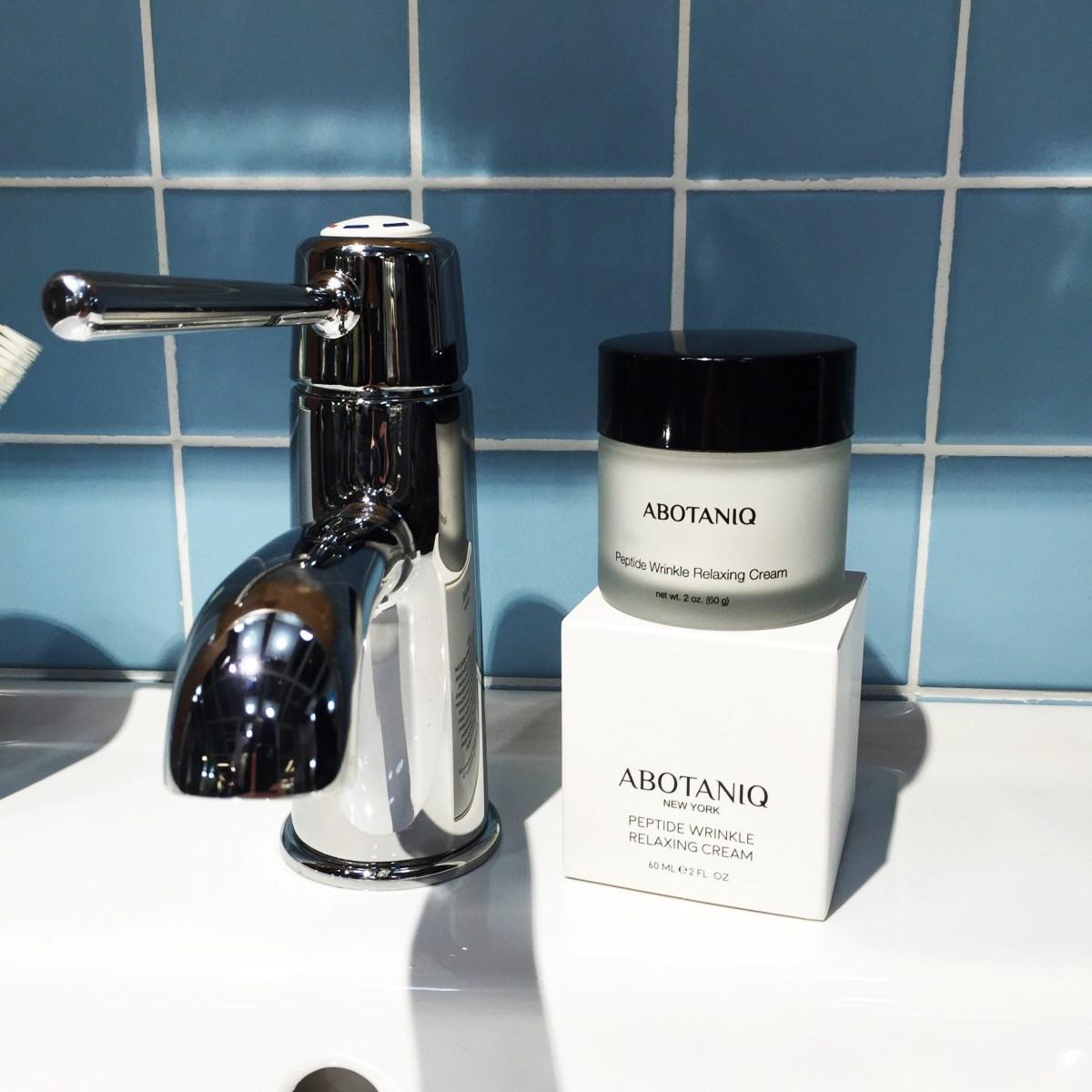 ABOTANIQ Peptide Wrinkle Relaxing Cream