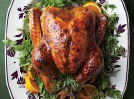 Turkey with Brown-Sugar Glaze