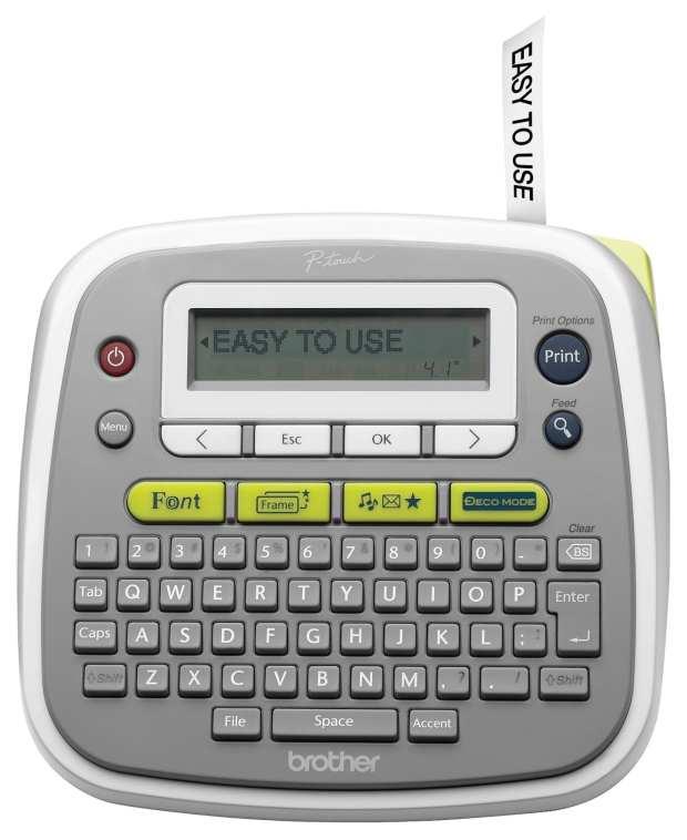 PT-D200-easytouse-frontlabel