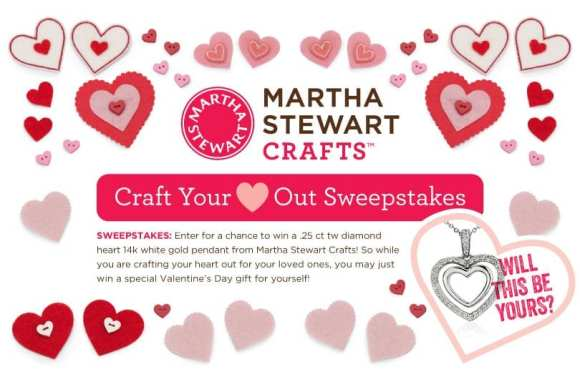 MSC Craft Your Heart Out Sweeps