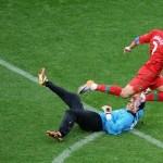 ronaldos goal run