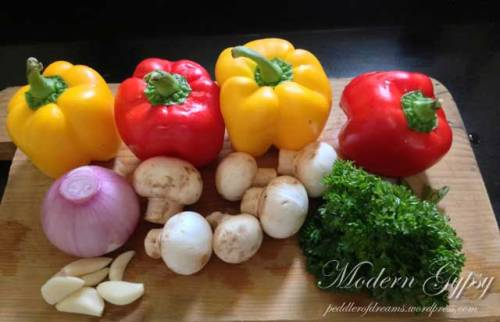 Creole Chicken - Ingredients