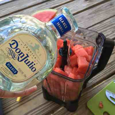 Summer Drink Series: Tequila Spiked Watermelon Agua Fresca