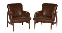 Small Of Mid Century Chair Leather