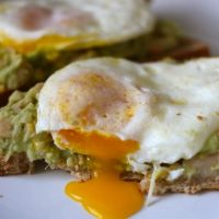Avocado White Bean & Egg Toast