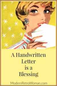 A Handwritten Letter is a Blessing