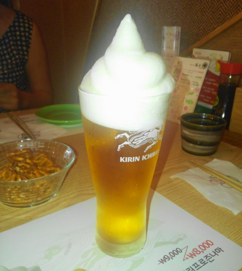 Large Of Beer In Japanese