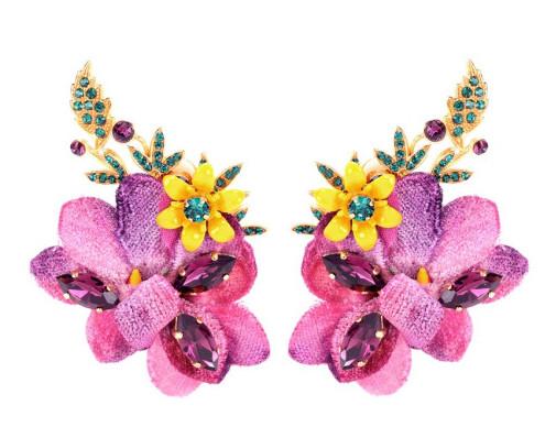 Botanical summer accessories Ottawa Fashion Blog