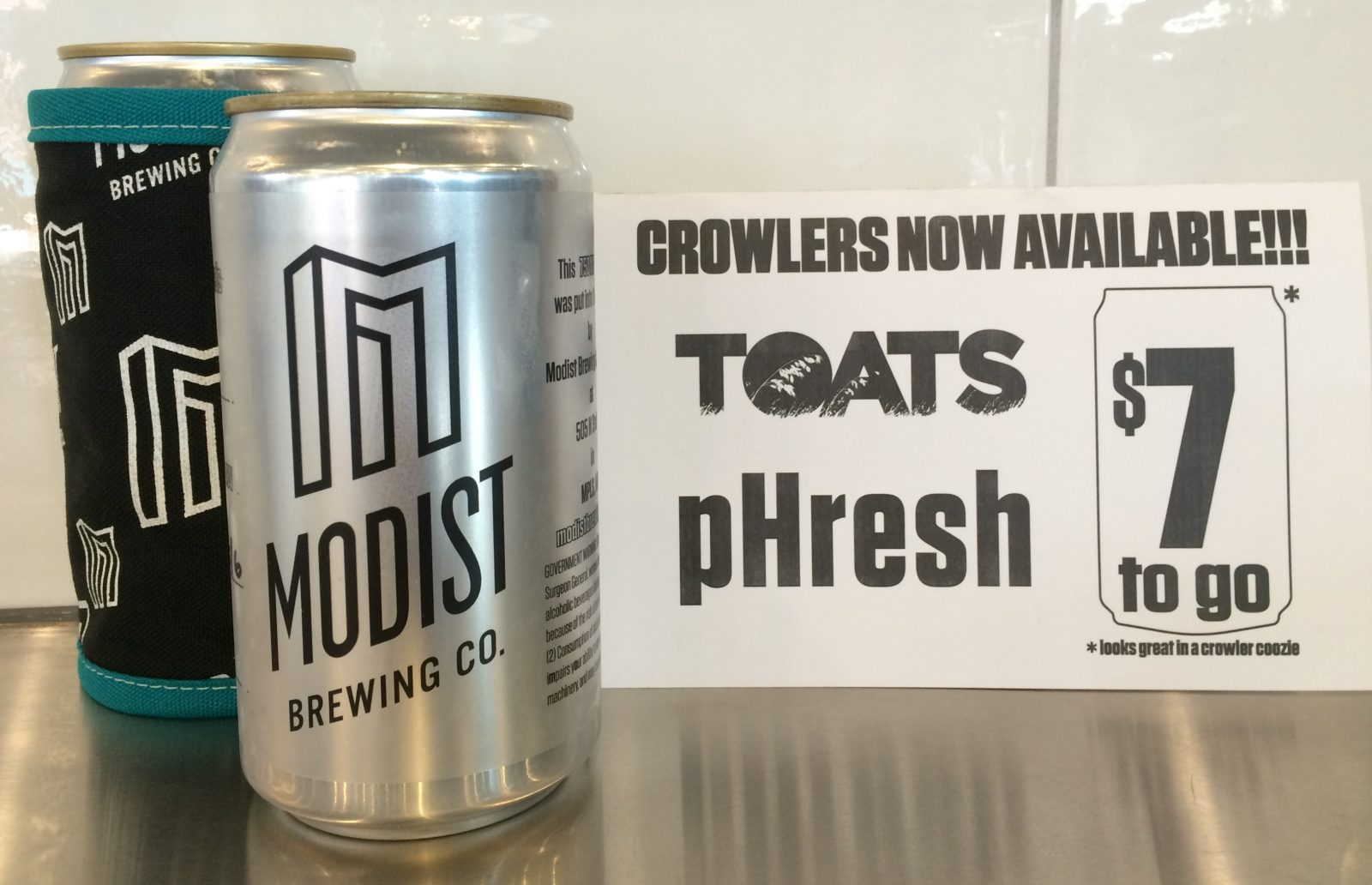 Crowlers to go!