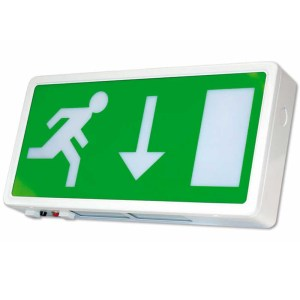 LED Maintained Exit Sign