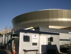 HQ mobile office at Super Bowl XLVII in New Orleans