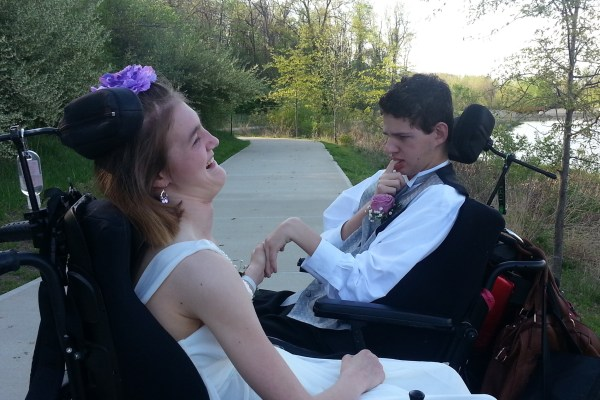Photo: Pictured: Cheryl's son, Jacob, with his prom date.