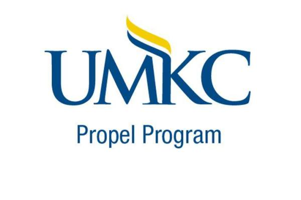 Logo: reads UMKC Propel Program