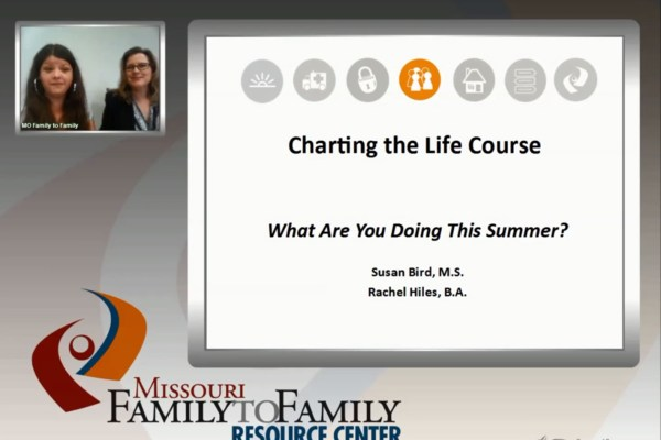 Screenshot: What are you doing this summer? webinar screen